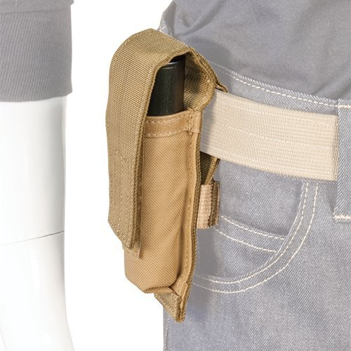 Atlas 46 AIMS Mini Flashlight Pouch Coyote | Work, Utility, Construction, Contractor, and Tactical