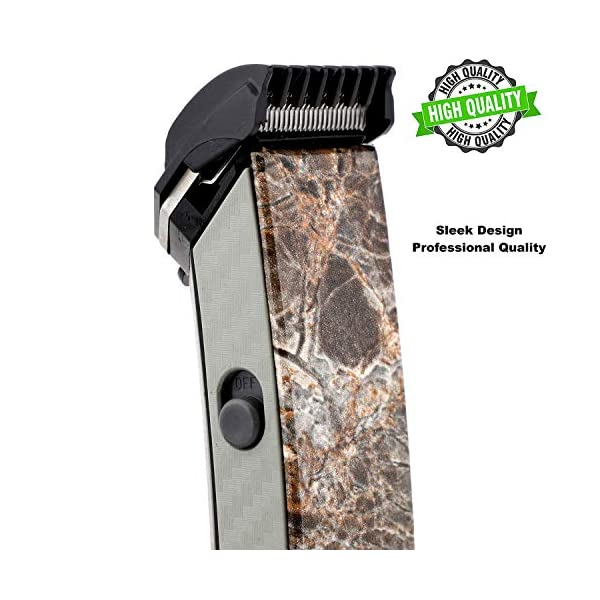 A2Z® (Made for Men's) NS-216 rechargeable cordless hair and beard trimmer for men's (Brown Marble - Special Edition) 2021 July The product should be charged for uninterrupted 8 hours before initial use Insert the battery in the slot and charge it accordingly .This product is not suitable for direct plug and use Removable Rechargeable Battery and the product can be charged only with Charging Cable, Washable attachments with charging cable