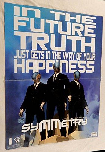 Symmetry 24 X 36 inch Folded Promo Poster - Image Comics - Rare!