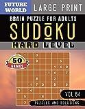 Sudoku Hard: Future World Activity Book   Sudoku