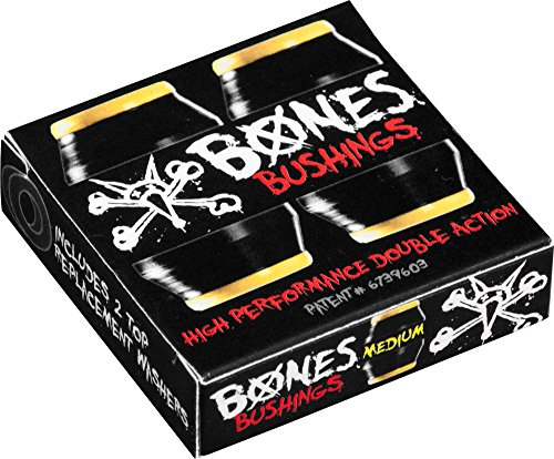 Bones Wheels Medium Bushings (2 Set), Black -