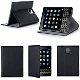 Etui luxe Blackberry Passport Ultra Slim noir Cuir Style avec stand - Housse coque de protection pour Blackberry Passport - Prix découverte accessoires pochette XEPTIO : Exceptional case !
