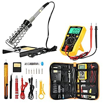 Review Soldering Iron Kit [Upgraded],