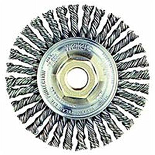 Weiler 804-09400P 6 in. Wire Wheel, Stringer Beads /RM#G4H4E54 E4R46T32523950
