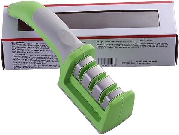 ACHICOO Sacapuntas de Cocina 3 en 1 Multifuncional, portátil, para el hogar, Color Verde Fresco, Caja 02 en inglés: Amazon.es
