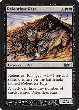 - Relentless Rats - Magic 2011 - Foil ()
