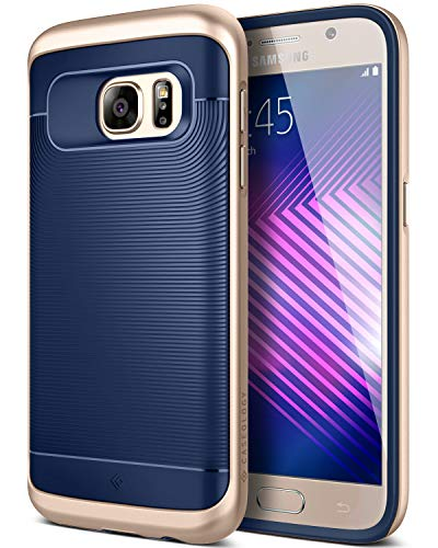 Caseology [Wavelength Series Galaxy S7 Case - [Stylish & Protective] - Navy Blue/Gold