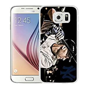 new york yankees White Samsung Galaxy S6 Phone Case Luxurious and Fashion Look