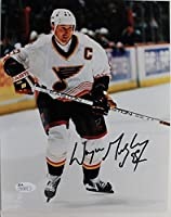 Wayne Gretzky St Louis Blues 'The Great One' Autograph Photo Signed 8x10 JSA 17E
