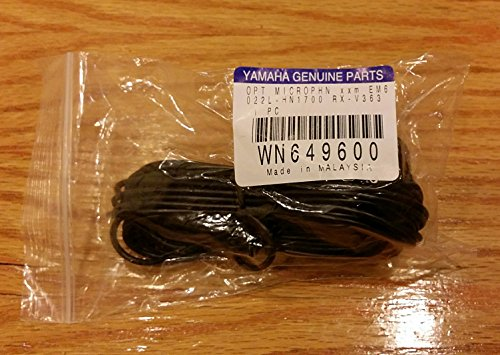 YAMAHA OEM Original Part: WN649600 A/V Receiver Audio Optimizer Microphone ()