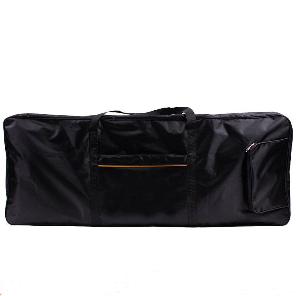 qees 61clave teclado Piano eléctrico Gig Bag, 420d Oxford gamuza con 4mm algodón Caso Gig Bag–40x16 x6(gjb54) Zhuolang