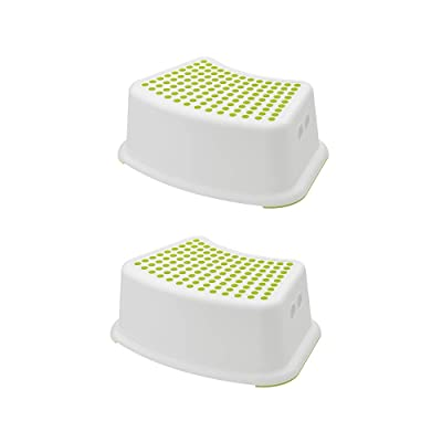 Ikea Niños Taburete försi ktig, Color Blanco/Verde (Modelo 2013): Hogar