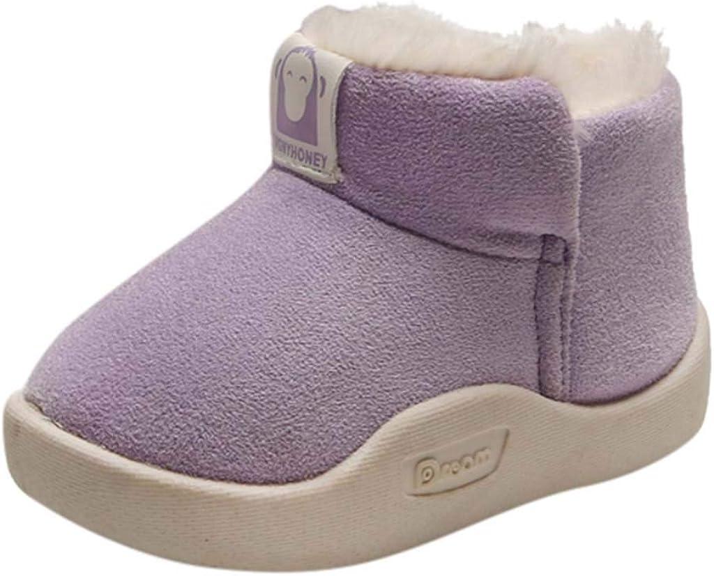 Infant//Toddler Lurryly❤Baby Girls Boys Soft Sole Cute Warm Anti-Slip Cartoon Animal Shoes