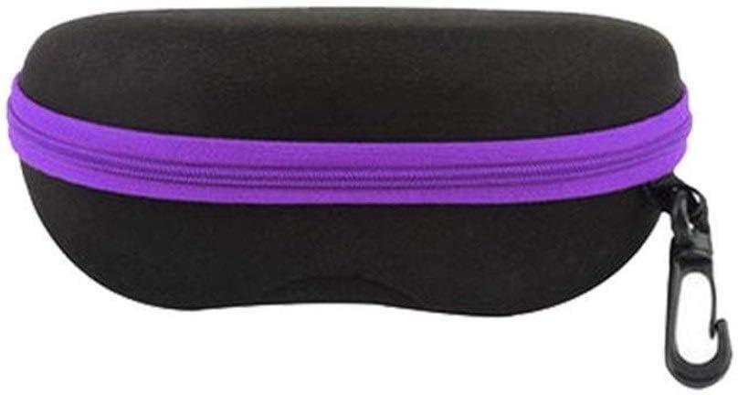 ZRDY Resistencia A La Compresión Portátil Material De EVA Gafas De Sol Organizador De Almacenamiento Caja De Gafas Caja De Gafas Universal Cubierta Protectora (Color : Purple): Amazon.es: Hogar