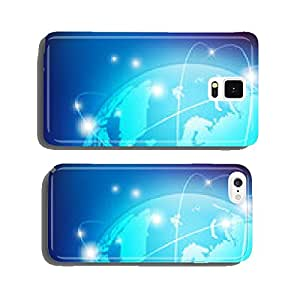 the world vector cell phone cover case Samsung S6