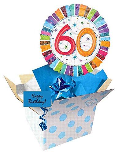 IdealWigsNet Invia Un Palloncino - 60esimo Compleanno radioso 18