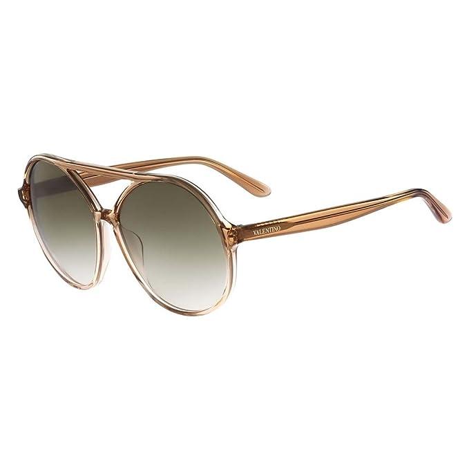 Valentino Gafas de Sol V727S 60 (60 mm) Beige: Amazon.es ...