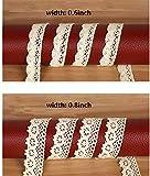 ToBeIT Cotton Lace Trim Approx 33 Yard DIY Craft