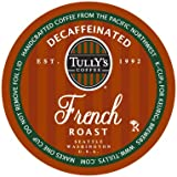 Tully's Coffee Decaffeinated French Roast, 24-Count K-Cups for Keurig Brewers (Pack of 2)