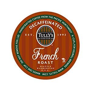 Tully S Coffee Decaffeinated French Roast 24 Count K Cups