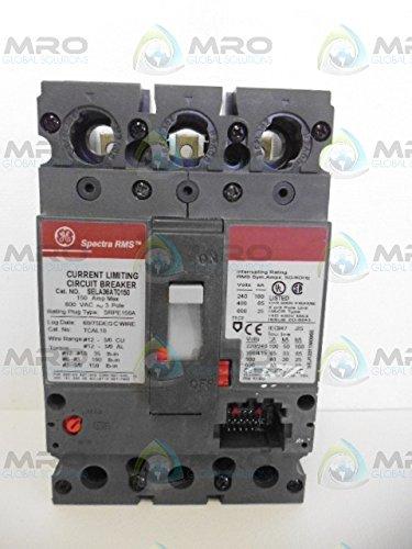 GENERAL ELECTRIC SPECTRA SELA36AT0100 CIRCUIT BREAKERNEW IN BOX