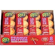 Ritz Peanut Butter Sandwich Crackers, 1.38 Ounce (Pack of 112)