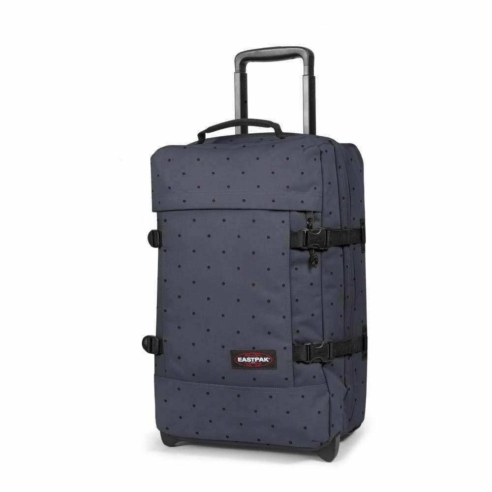 674351056a3 Eastpak Strapverz Suitcase, 51 cm - 42 L, Dot Grey (Multicolour):  Amazon.co.uk: Luggage