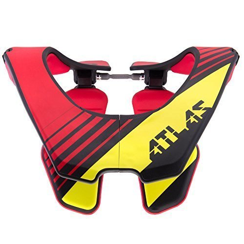 Atlas Brace Technologies Air Brace, 2017 Unisex-Adult (Red, Small) (Radioactive Red) by Atlas Brace Technologies