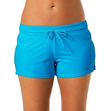 Mujer Boxer Deporte Yoga Deportivos Pantalones Pantalones De ...