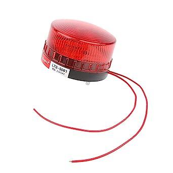 Red Industrial Warning Strobe Beacon Light Alarm Lamp AC220V Water-Proof