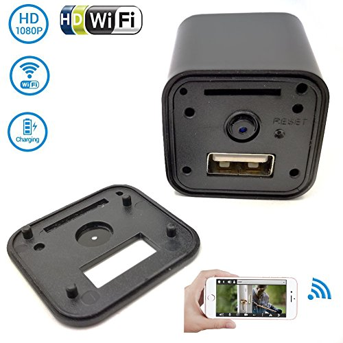 security camera for iphone wifi charger hd mini dvr p2p 5297