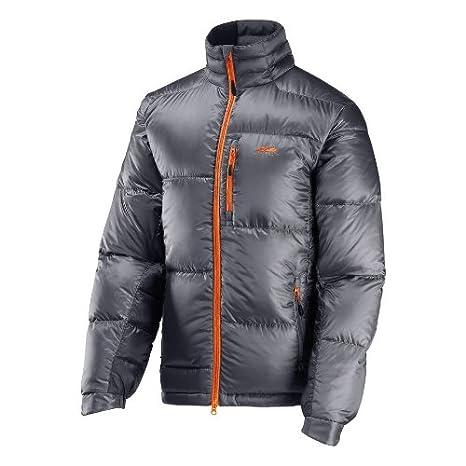 GoLite hombre Beartooth 650 plumas de ganso chaqueta, hombre, Granite/Mandarin Orange: Amazon.es: Deportes y aire libre