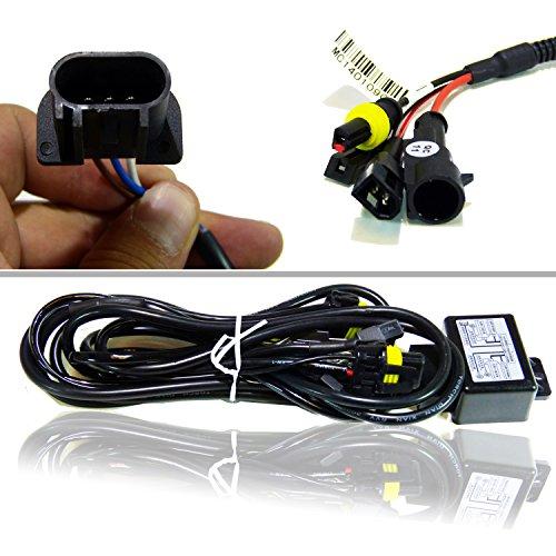 JDM H13 9008 HID Bi Xenon Relay Wiring Harness For Bulbs