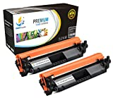 Catch Supplies CF230X - 30X Premium Replacement Black Toner Cartridge Two Pack Compatible with HP LaserJet Pro M203dw, M203dn, M203d, MFP M277sdn, M227fdw, M277fdn - 3,500 Yield