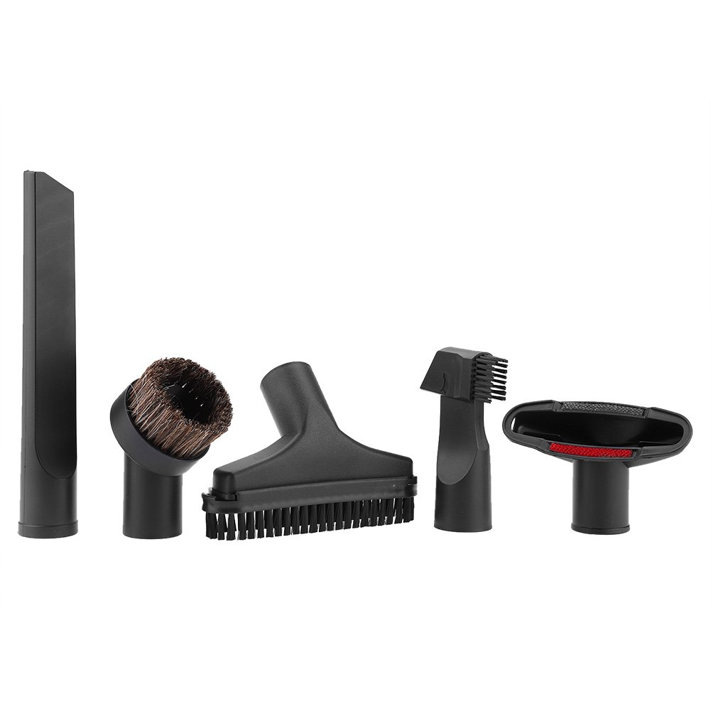 5pcs/Set Universal Vacuum Attachments,Acogedor Vacuum Accessories for 1 1/4 inch Diameter Vacuum Cleaners,Vacuum Cleaner Brush Kit,Vacuum Cleaner Replacement Part