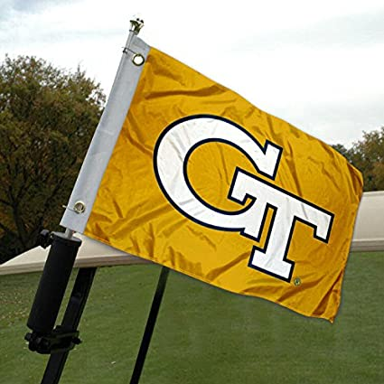 Amazon.com: Georgia Tech Carrito de golf y barco bandera ...