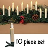 Heart of America Remote Control Clip Candles - Set of 10