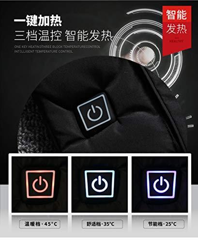 Usb En Black Câble Extérieur Électrique Men's Chauffant Les Pour Voyages black Avec Dzx 5xl 4xl Blouson Homme 4q8qR
