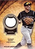 #5: 2017 Topps Tier One Relics #T1R-NA Nolan Arenado Game Worn Jersey Baseball Card - White Jersey Swatch - Only 331 made!