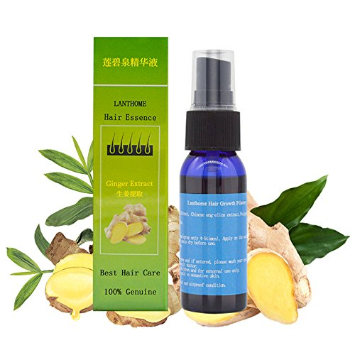 Lanthome Chinese Herbal Fast Hair Growth Essence Liquid Anti Hair Loss Treatment Pilatory Sprayer