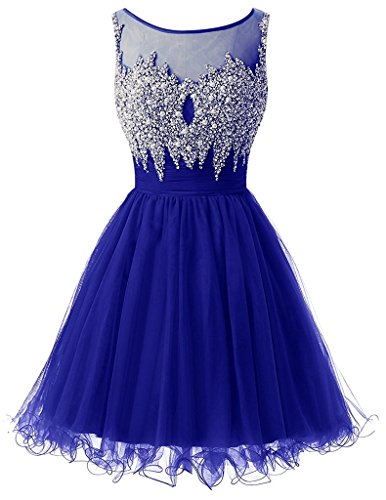 Ysmo -  Vestito  - Sera  - Donna Royal Blue 46