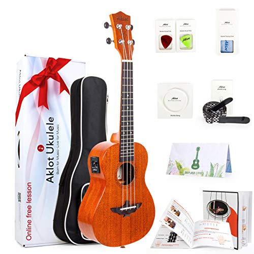 electric acoustic ukulele - 9