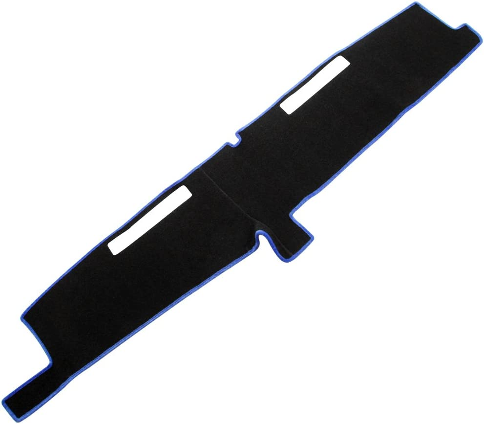 Black MR-028 JIAKANUO Dash Cover Fit for Chevrolet Full Size 1981-1987 Dashboard Mat Sunshield Protector Pad Non-Slip,Extra Thick Anti-Glare
