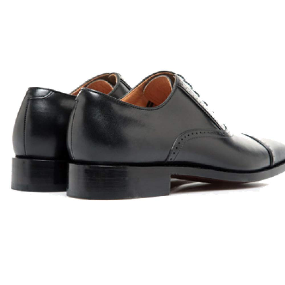 Benutzerdefinierte High End Herren Stilvoll Lederschuhe Goodyear Handmade Rundkopf Stilvoll Herren und Bequeme schwarz 63a879
