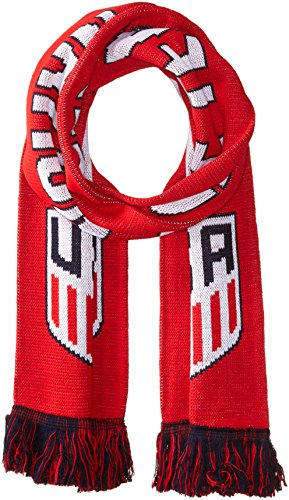 - Official US Soccer Scarf - Red One Nation, One Team