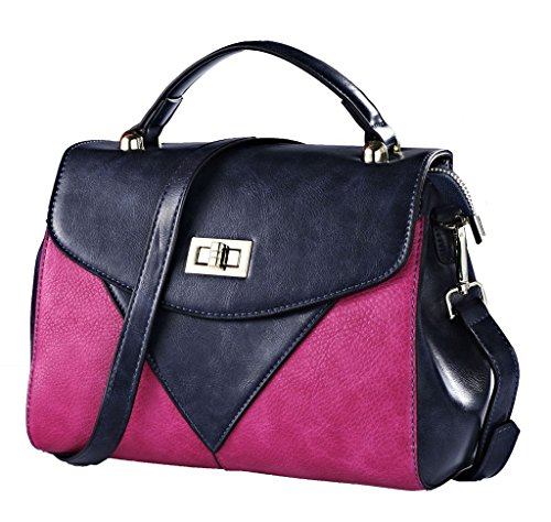 ROYAL WIND - Bolsa Mujer Azul - Blue+Pink