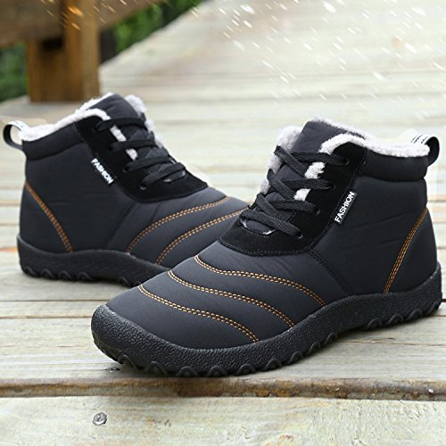 Dreamcity Men S Winter Snow Boots Waterproof Insulated