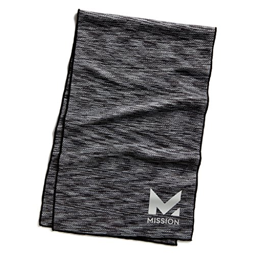 Mission HydroActive Premium Techknit Charcoal product image