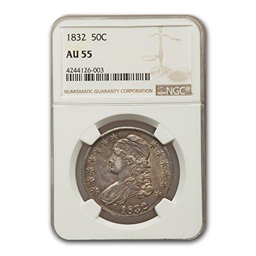 (1832 Capped Bust Half Dollar AU-55 NGC Half Dollar AU-55 NGC)