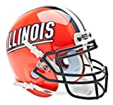 NCAA Illinois Collectible Mini Football Helmet